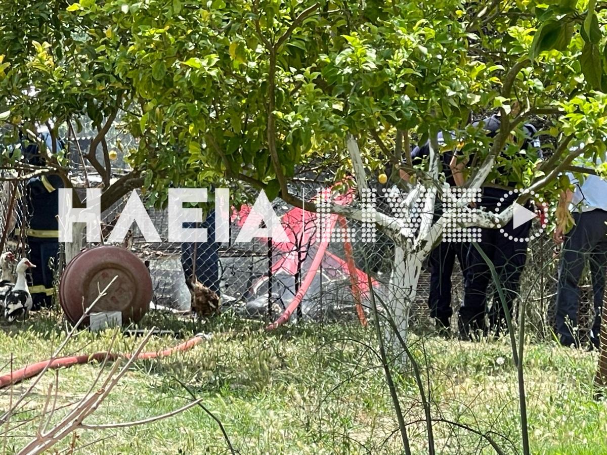 Ηλεία: Έπεσε μονοκινητήριο αεροσκάφος.