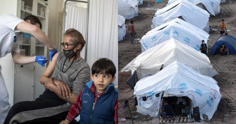 Εμβολιασμός προσφύγων