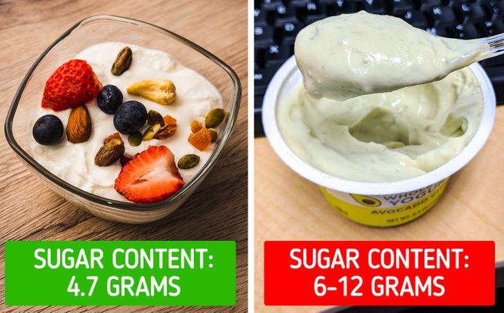 Ζάχαρη στα φαγητά : γιαούρτι χαμηλό σε λιπαρά