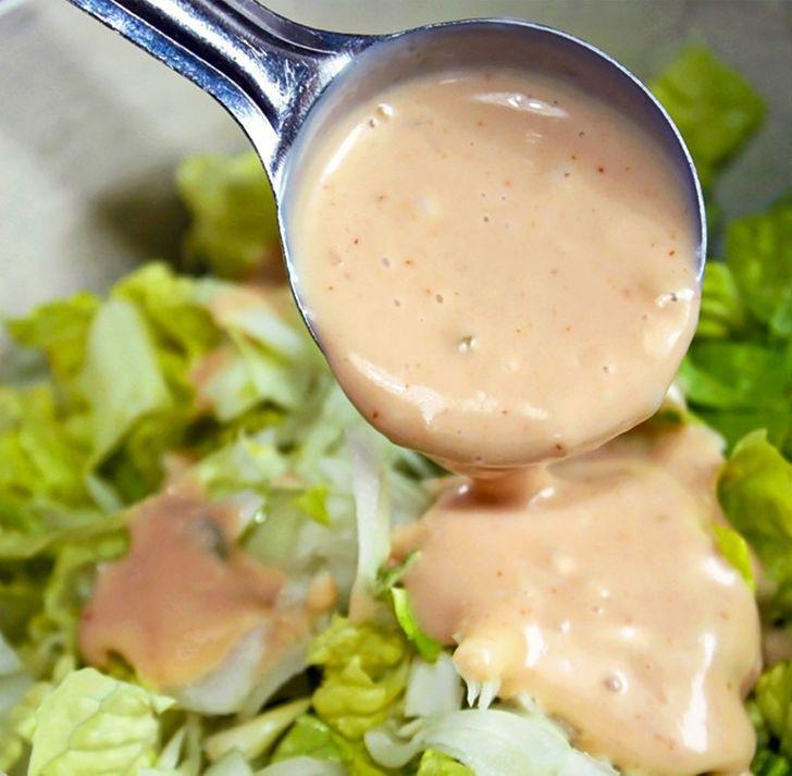 Ζάχαρη στα φαγητά : σάλτσα σαλάτας