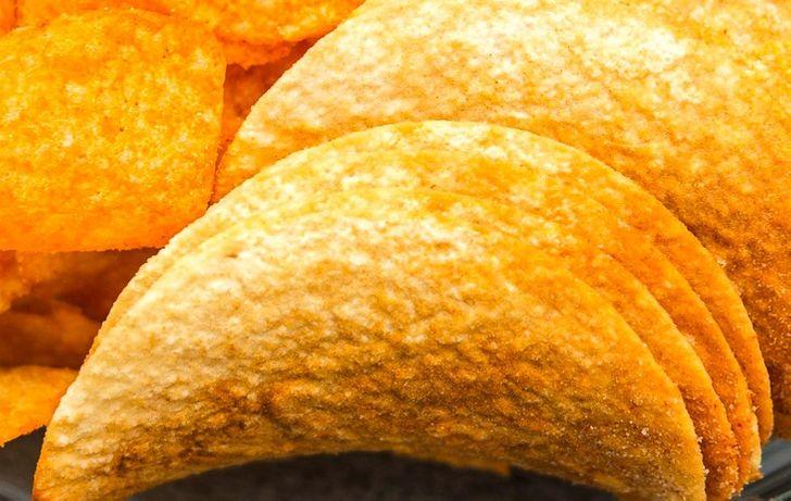Ζάχαρη στα φαγητά : πατατάκια
