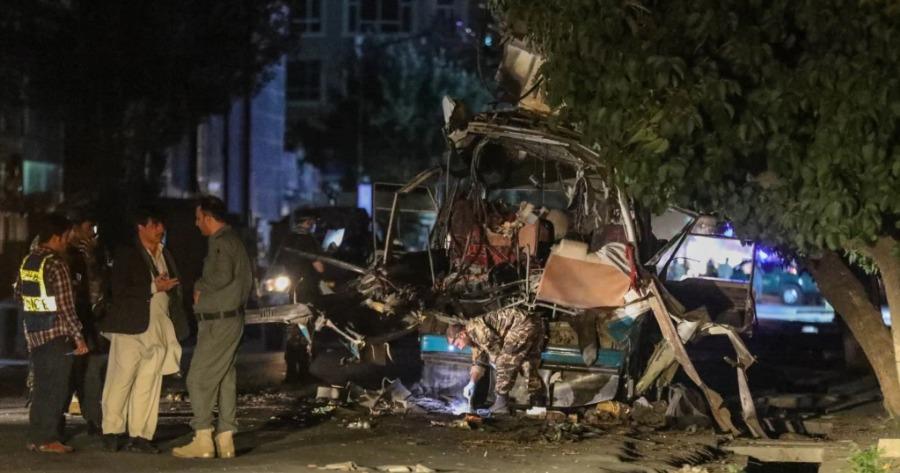 Βόμβα σε λεωφορείο στο Αφγανιστάν