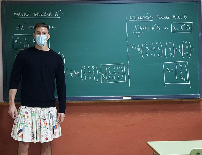 Δάσκαλοι με φούστες με φούστες