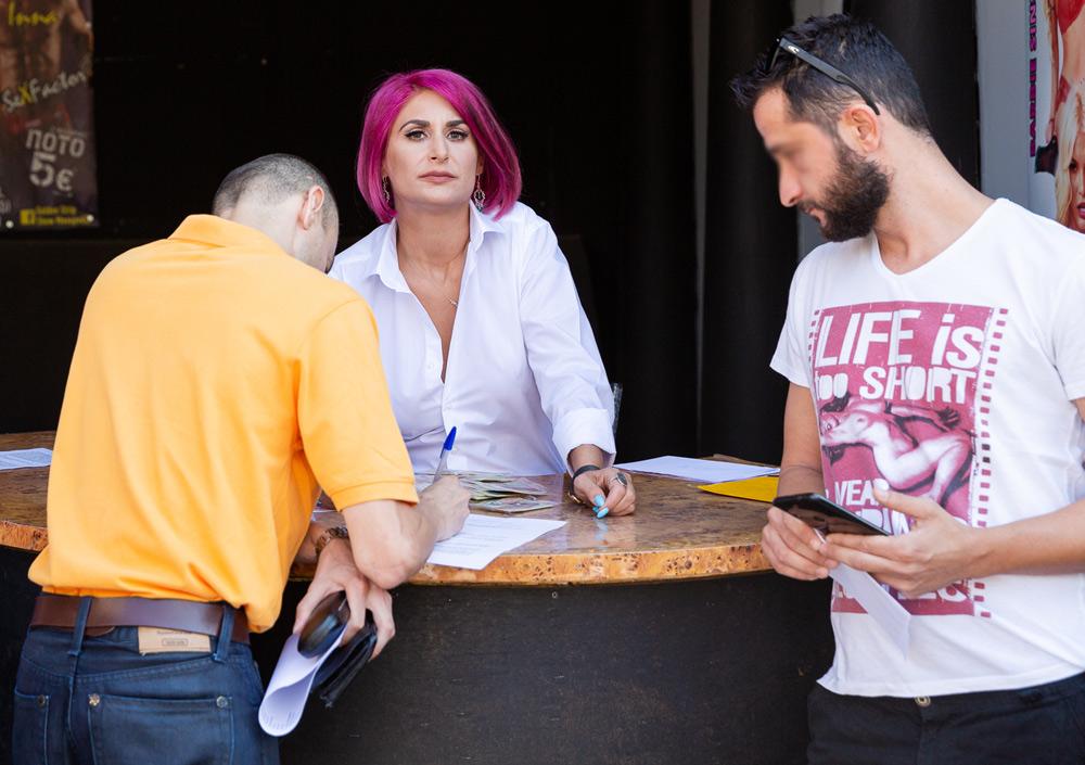 Ουρές σε casting ελληνικών ταινιών ενηλίκων.