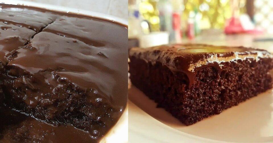 Αφράτη σοκολατόπιτα