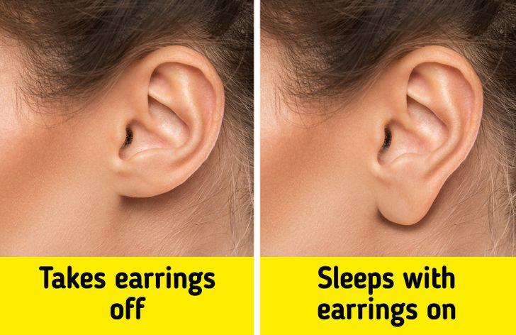ύπνος με σκουλαρίκια