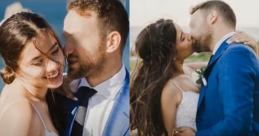 Γλυκά Νερά: Ο γάμος της Καρολάιν και του Μπάμπη σε φωτογραφίες.
