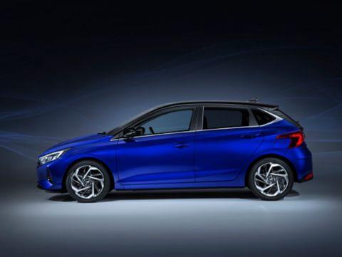 πλάγια εμφάνιση Hyundai i20