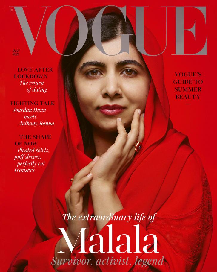 Μαλάλα Γιουσαφζάι: Ο πυροβολισμός και το εξώφυλλο στη Vogue.