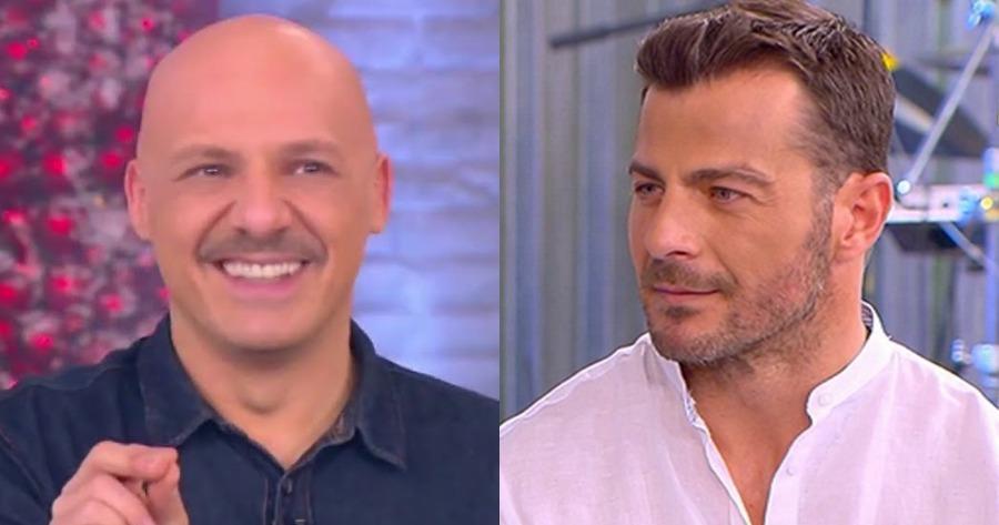 Νίκος Μουτσινάς και Γιώργος Αγγελόπουλος
