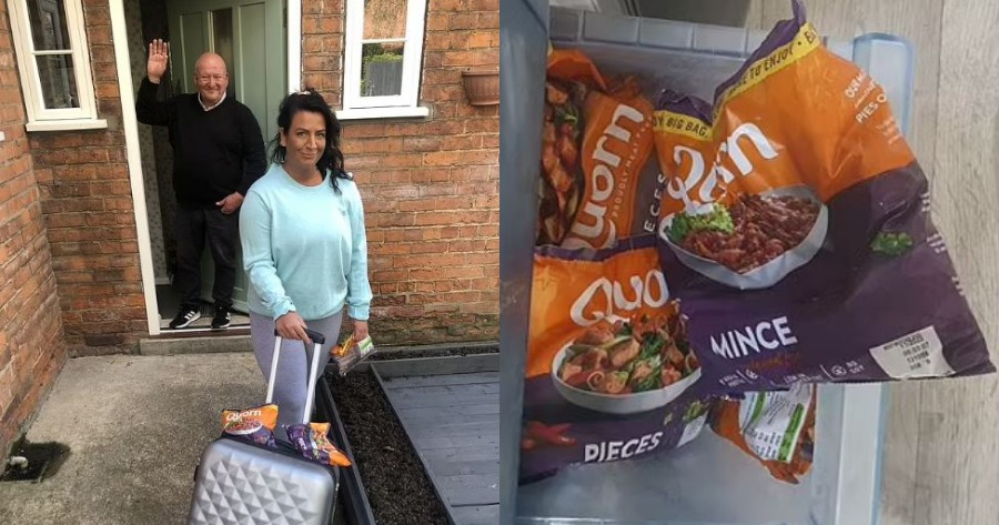 Ο πατέρας της την έδιωξε από το σπίτι γιατί έγινε χορτοφάγος