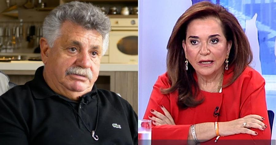 Ο σεφ Λαζάρου αποστομώνει την Μπακογιάννη στον αέρα της εκπομπής: «Θα ζητάτε πιστοποιητικό και στα ΜΜΜ;»