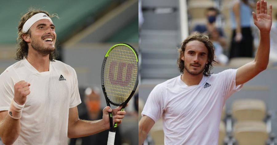 Στέφανος Τσιτσιπάς Roland Garros