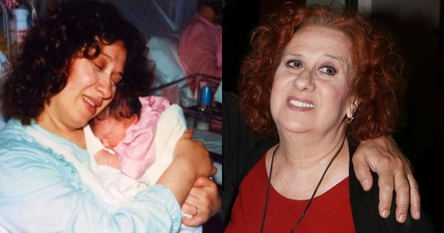 Η κόρη της Χριστίνας Βατζοπούλου την αποχαιρέτησε