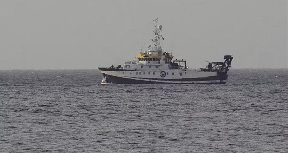 Ερευνητικό σκάφος στη Τενερίφη