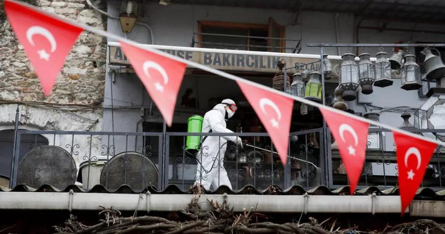 κορονοιός στη Τουρκία