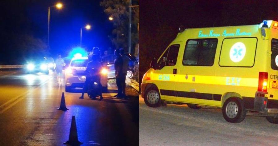 Τραγικο! 33χρονος νεκρός στην παλιά εθνική οδό Θηβών  – Λιβαδειάς