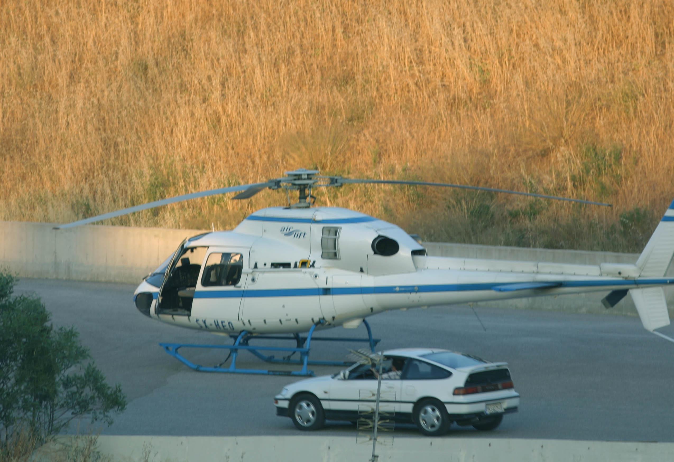 Βασίλης Παλαιοκώστας: Η απόδραση με το ελικόπτερο.