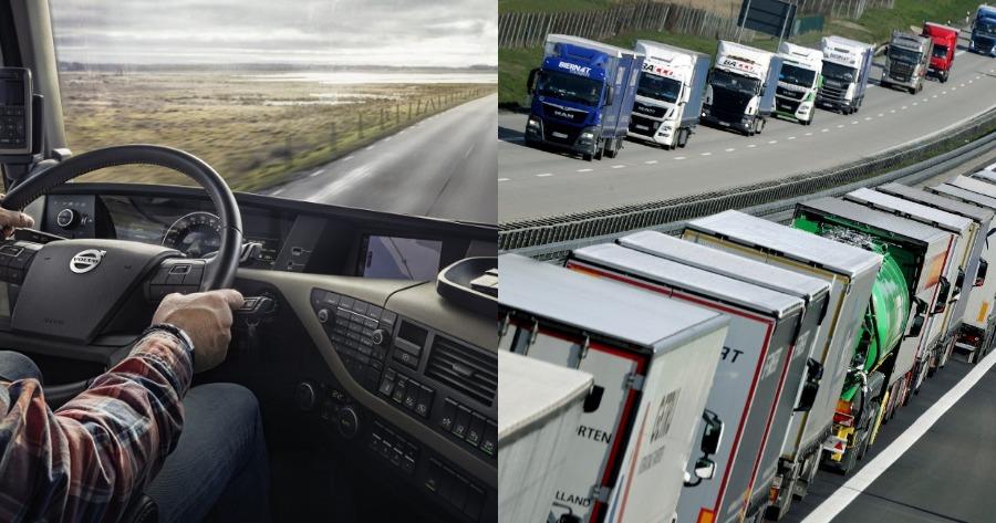 Ζητούνται 200 οδηγοί φορτηγών