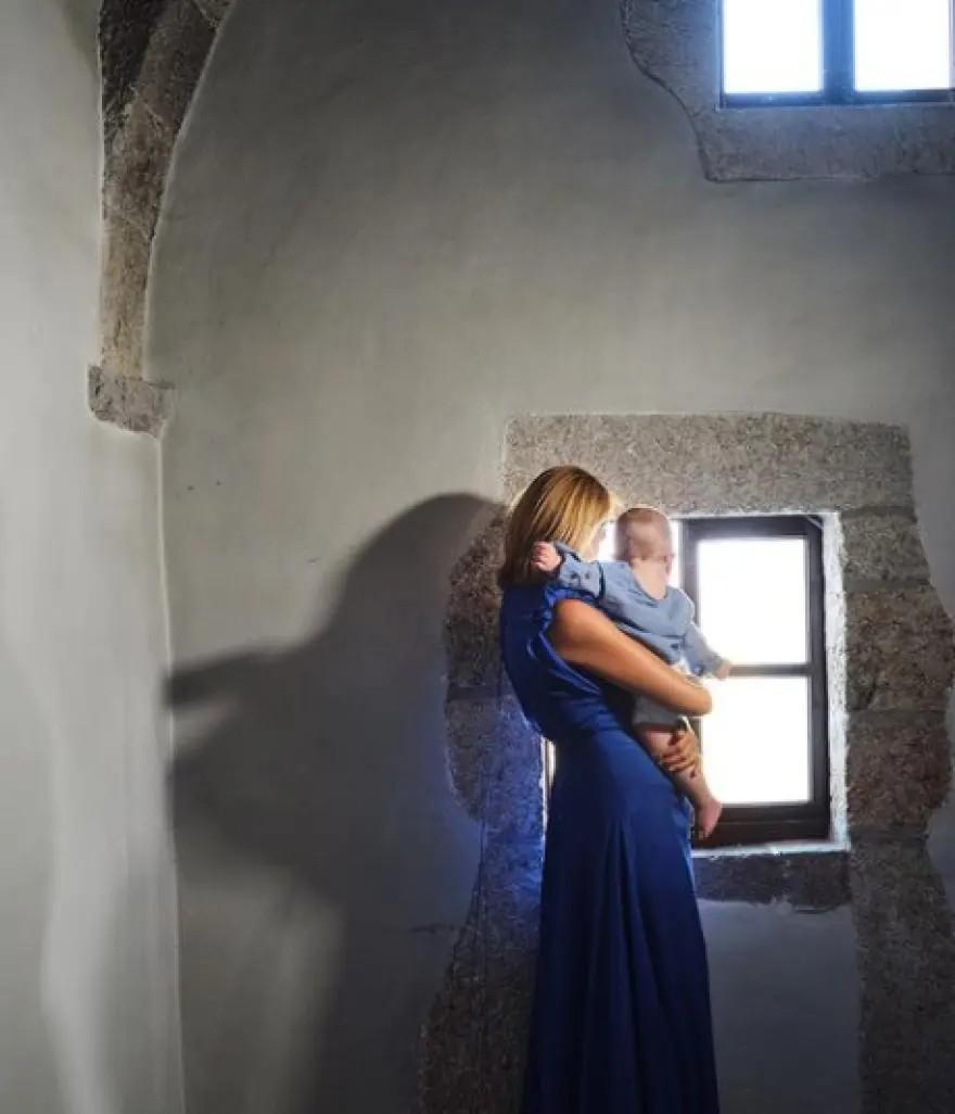 Βασίλης Κικίλιας και Τζένη Μπαλατσινού βάφτιση γιου