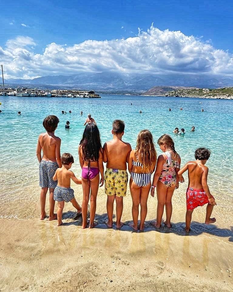 Ντόρα Μπακογιάννη εγγόνια Διακοπές με τα εγγόνια για τη Ντόρα Μπακογιάννη