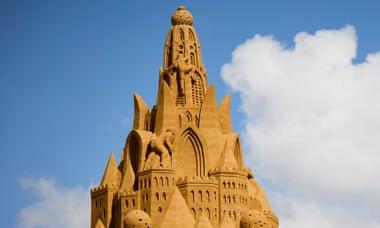 Δανία κάστρο άμμου