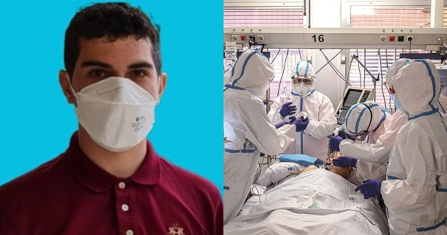 Έκκληση 17χρνου μαθητή για εμβολιασμό