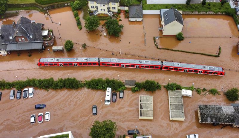 πλημμύρα στην Γερμανία