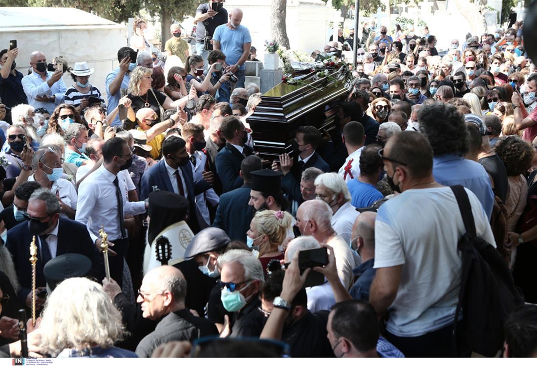 κηδεία Βοσκόπουλου