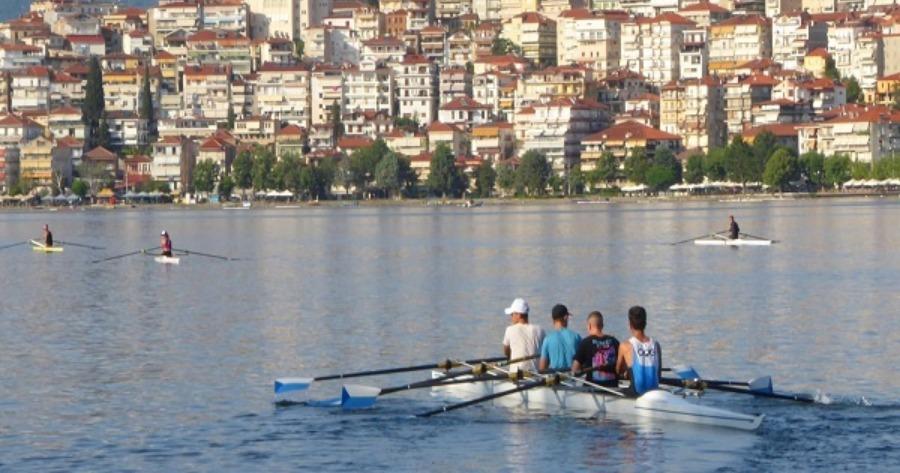 Καστοριά : Πανελλήνιο πρωτάθλημα κωπηλασίας