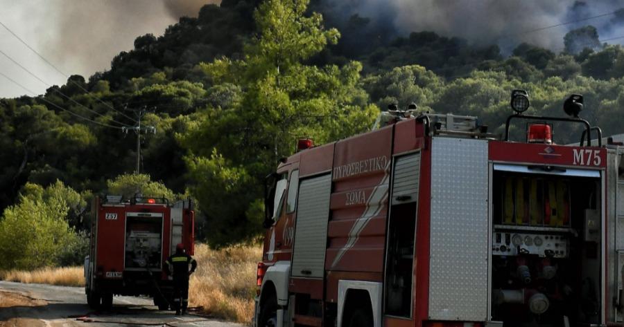 Πυρκαγιά στο Κιλκίς