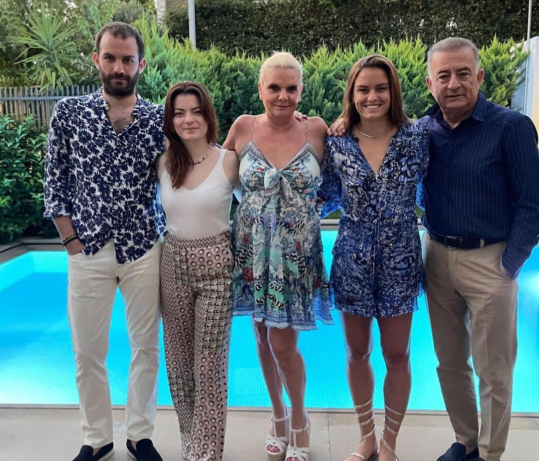 Μαρία Σάκκαρη οικογένεια