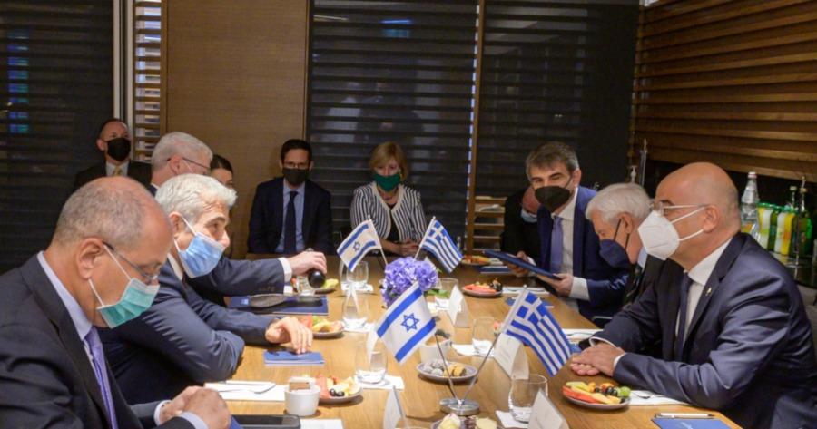 Δένδιας στο Ισραήλ για τις Παράνομες τουρκικές ενέργειες