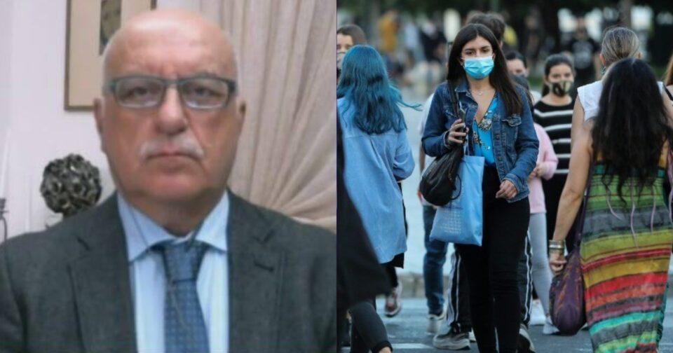 Νικόλαος Τζανάκης για μετάλλαξη Δέλτα