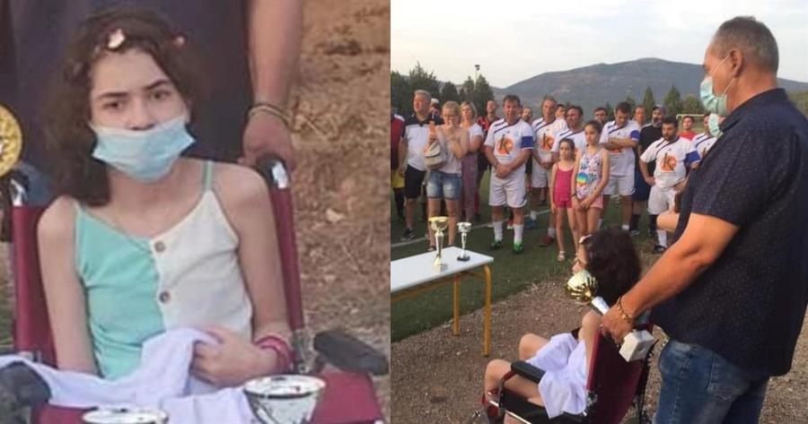 Συγκίνηση για την μικρή Αλεξία: Εκδήλωση στήριξης και αγάπης στη 10χρονη  που χτυπήθηκε από αδέσποτη σφαίρα