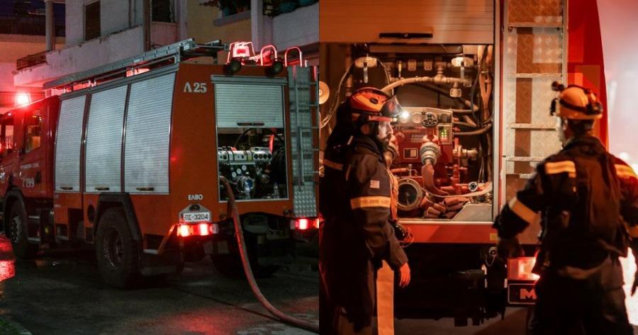 Φωτιά σε διαμέρισμα στην Αθήνα