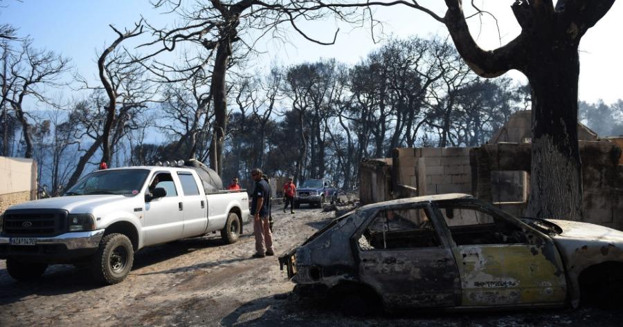Φωτιά στην Αιγιάλεια: Κυβερνητικό κλιμάκιο μεταβαίνει αύριο αποτίμηση