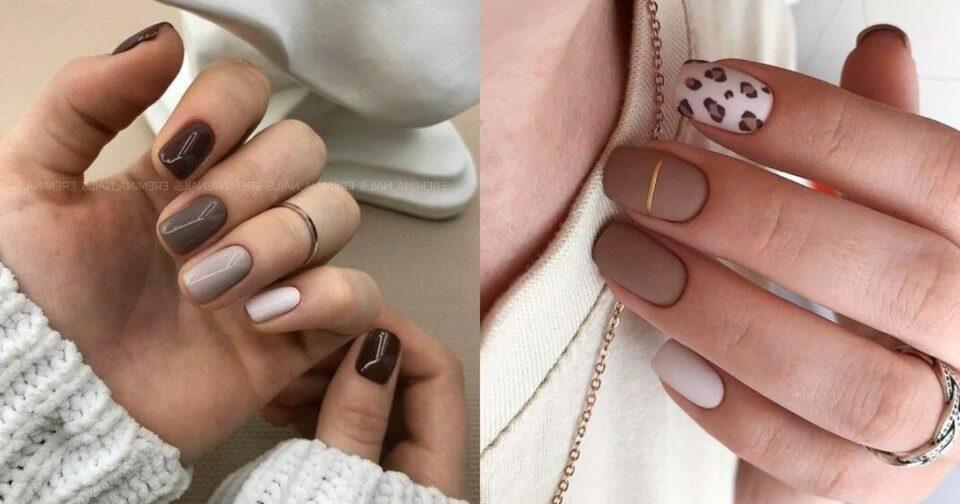 Νύχια σε nude brown αποχρώσεις για όλα τα γούστα