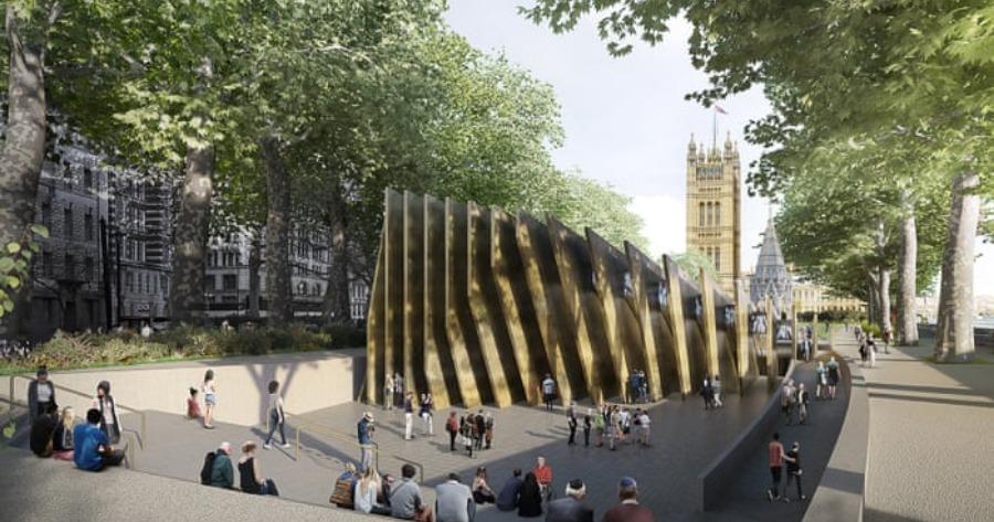 Μνημείο Ολοκαυτώματος στο Λονδίνο