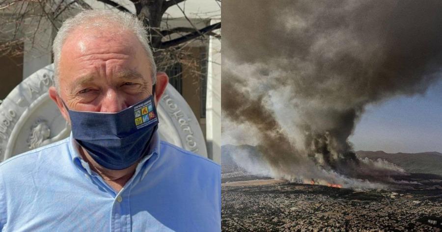 Σεισμολόγος Λέκκας για φωτιά στη Βαρυμπόμπη