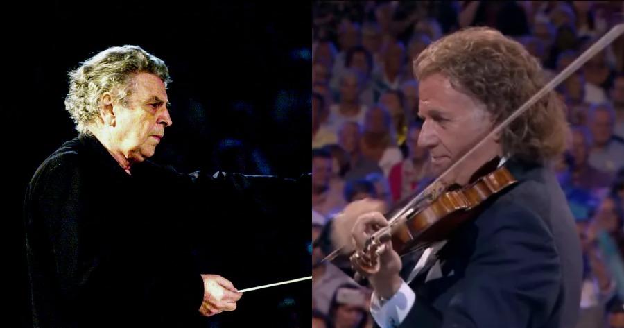 Ολλανδός βιολιστής αποχαιρετά τον Μίκη Θεοδωράκη