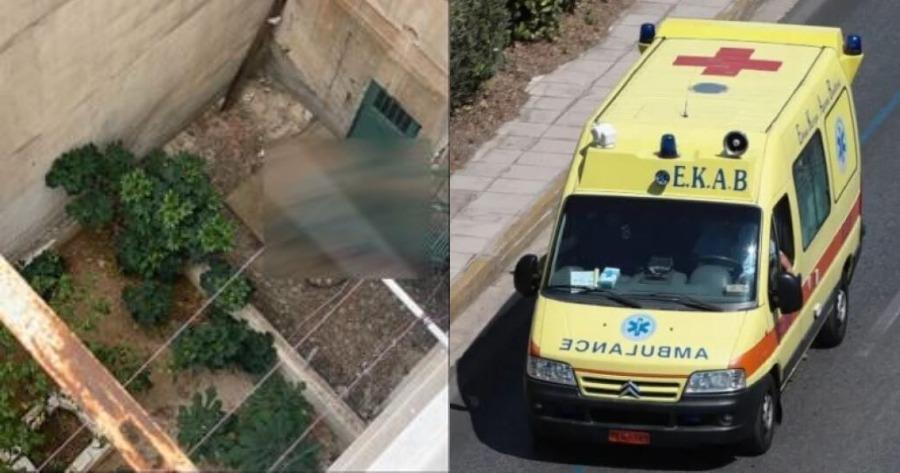 54χρονος άνδρας πήδηξε από ταράτσα