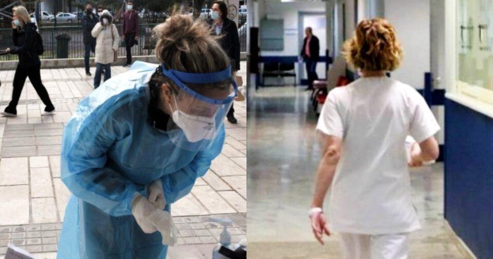 Ανατροπή με αναστολή ανεμβολίαστων υγειονομικών