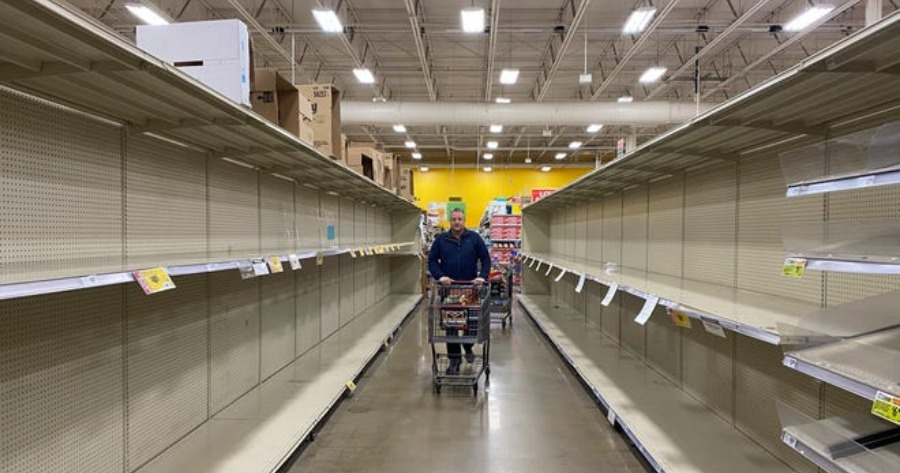 COVID-19: Ανέδειξε σοβαρές αδυναμίες στην αλυσίδα εφοδιασμού τροφίμων που ίσως επαναληφθούν στο μέλλον