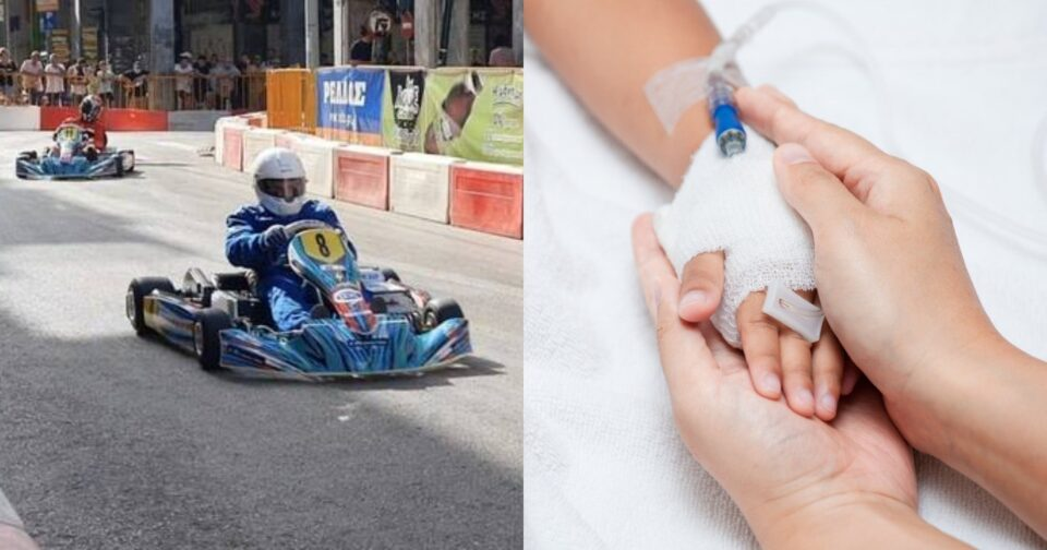 Ευχάριστα νέα για τον μικρό Φώτη: Κέρδισε το στοίχημα της ζωής ο 6χρονος που τραυματίστηκε σε αγώνα καρτ