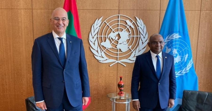 Γενική Συνέλευση ΟΗΕ: Διευρυμένες διπλωματικές επαφές του Δένδια