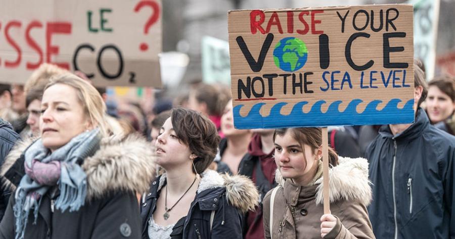 Κλίμα: Οι νέοι σε όλο τον κόσμο βγαίνουν στους δρόμους απαιτώντας δράση κατά της κλιματικής αλλαγής