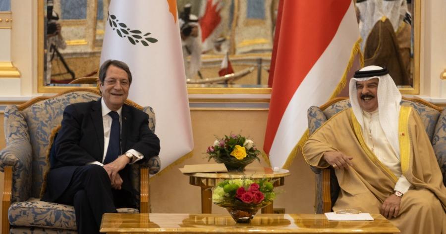 Κυπριακή Δημοκρατία: Υπογραφή Συμφωνίας και Μνημονίου Συνεργασίας με το Μπαχρέιν