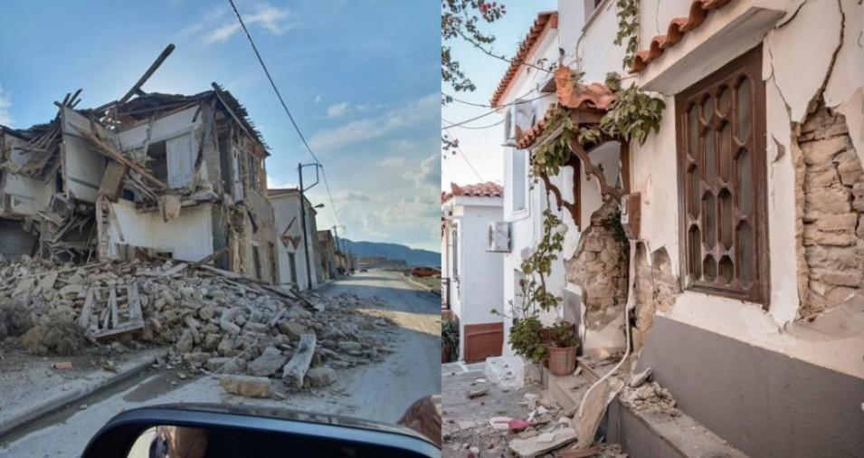 Ετοιμόρροπα κτήρια στη Σάμο δεν έχουν επιδιορθωθεί