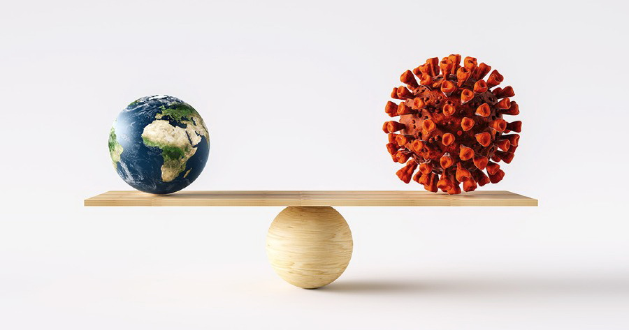 ΟΗΕ: Ο πλανήτης πιθανόν να μην πετύχει τους στόχους για το κλίμα παρά την προσωρινή παύση στις εκπομπές λόγω της Covid-19